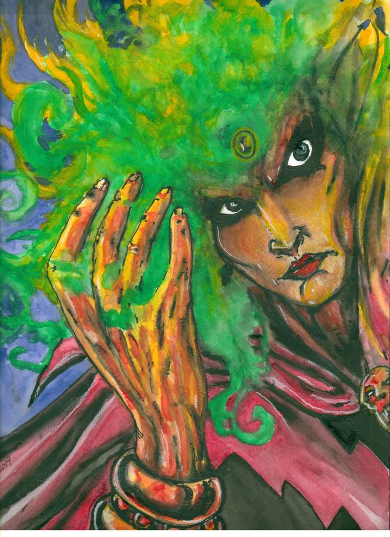 The Soul Gem of Adam Warlock by ragzdandelion