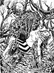 Man Thing by ragzdandelion