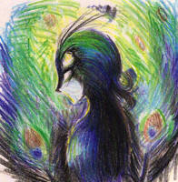 Madame Peacock by happymoments