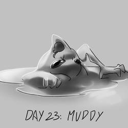 Inktober Day 23: Muddy by Lallelol