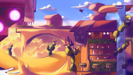 MIRAGE SALOON! by Lallelol