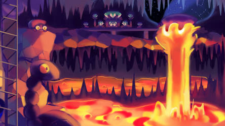 LAVA BEEF ZONE! by Lallelol