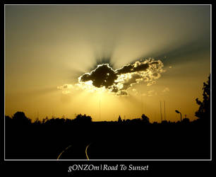 Road To Sunset by gONZOm