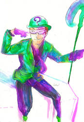 Riddler commission by Waterwindow
