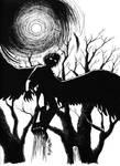 Spooky Chase by mangakasagebrush