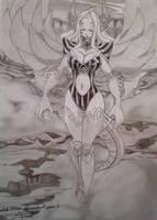 Mirajane demon by MalakMiku