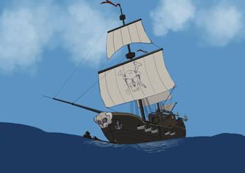 Ghost Ship - Bateau Fantome by Studio-daVinci-Dijon