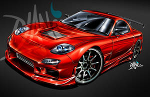 RX7 2005 by Signalxb