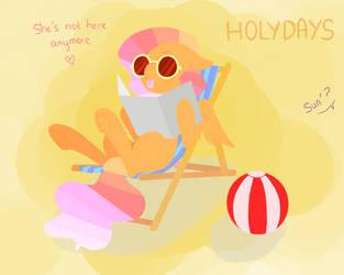 Sun and holydays by Conamee