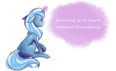 Trixie Childhood by Conamee
