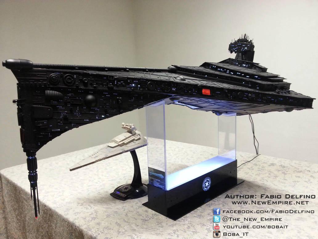 Super Star Destroyer Eclipse-class [custom model] by Boba-IT