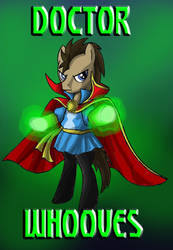 My Little Avengers: Doctor Whooves by Kenichi-Shinigami