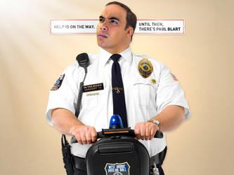 Duke Blart: Mall Cop by thebrownduke