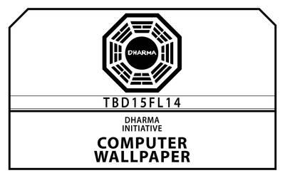 LOST: Dharma Brand Wallpaper by thebrownduke