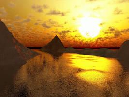 Weird Sun by zipclaw