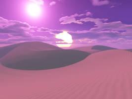 Alien Desert by zipclaw
