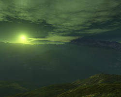 Green Sun by zipclaw