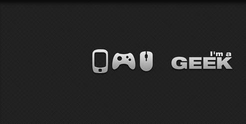 im a geek - gray by cesars