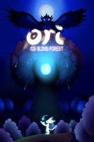 Ori and the blind forest by MetalWing15