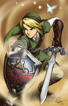 Legend of Zelda: Link by TixieLix