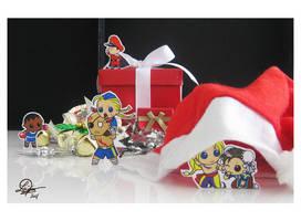Christmas at Shadaloo HQ by TixieLix