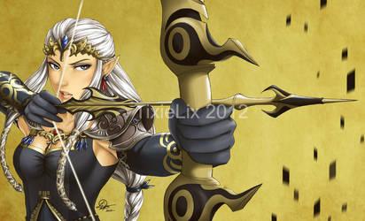 Princess Zelda - Alt. Colours by TixieLix