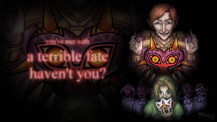 You've met with a terrible fate haven't you? : Wp by Kastella72
