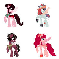 Collab adopts! by DaintySparkles