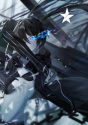 Black Rock Shooter by Naufaldreamer