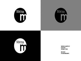sektor m logo by spicone