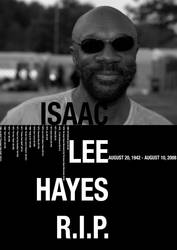 Isaac Lee Hayes R.I.P. by spicone