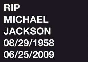 RIP Michael Jackson by spicone