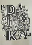 alphabet semi handmade by spicone
