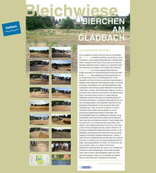 Bleichwiese Microsite by spicone