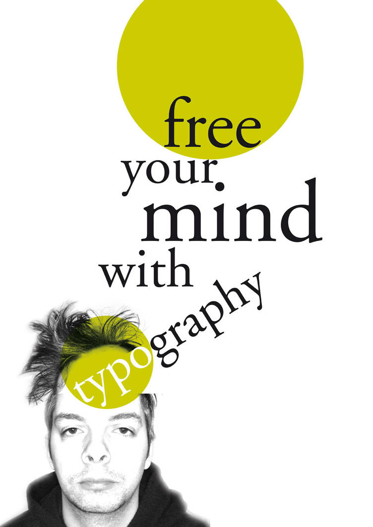 free your mind with typography by spicone