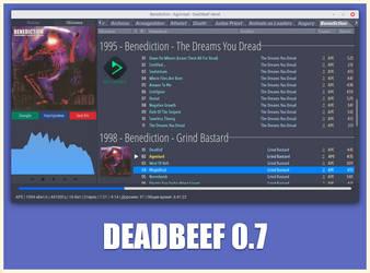 DeaDBeeF 0.7 Screenshot #3 by DeadMetaler