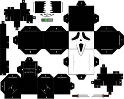 Ghostface Cubee by ManosHandsofFate