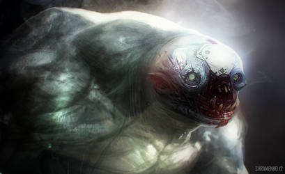 Creature Head Study by shirik