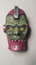 mini latex Trap-jaw mask by stoneindian
