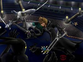 KH2: XIII Roxas-Samurai by CrimsonskyR