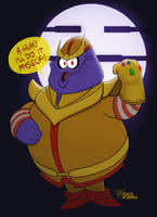 Nothing Can Kill the Purple Guy (''Thanos'') by KnoxRobbins
