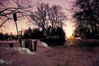 Purple Night by btoum
