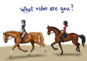 What rider are you ? by Tamara971