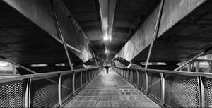 Walking alone by r3akc3