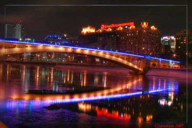 Moscow lights by Sarumian3000