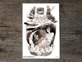 Inktober2017: Poison by Akiocha