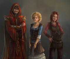 BG: divided loyalty by artastrophe