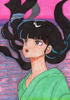 Mana at Sunset - Mermaid Saga by Amara-Anon