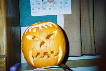The Offspring Pumpkin by Amara-Anon