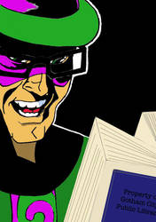 Riddler Doesn't Pay Late Fees by Amara-Anon